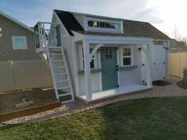 playhouse with garage shed
