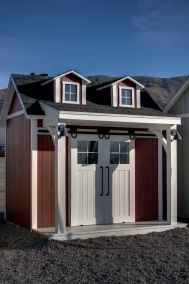 double dormer shed