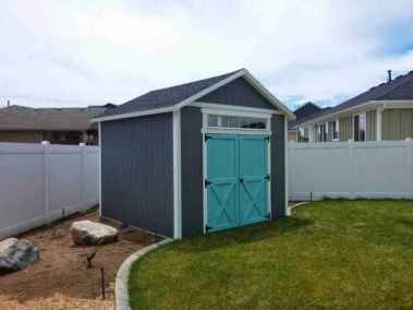 three tone orchard shed with transom