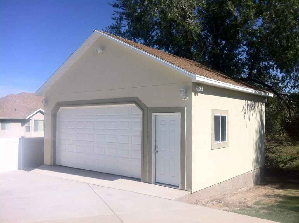 Detached Garage Builder  Utah  Wrights Shed Co