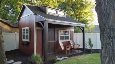front custom shed