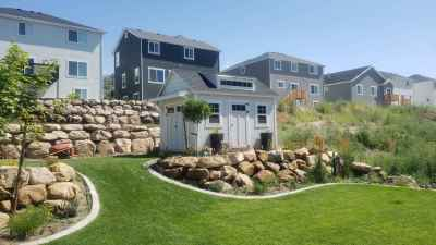 Spanish Fork Orchard Shed with Popout