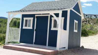 blue orchard shed