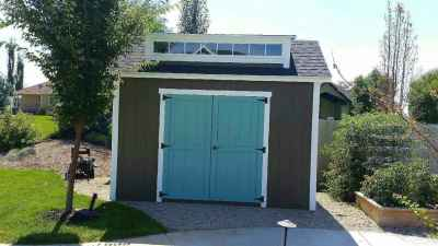 orchard shed with popout