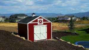 Red Orchard Custom Shed