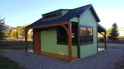 orchard shed green