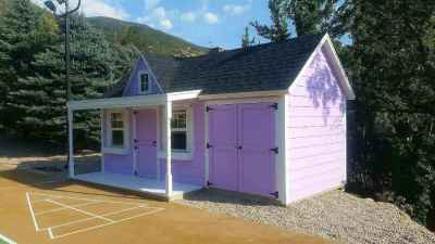 custom playhouse shed