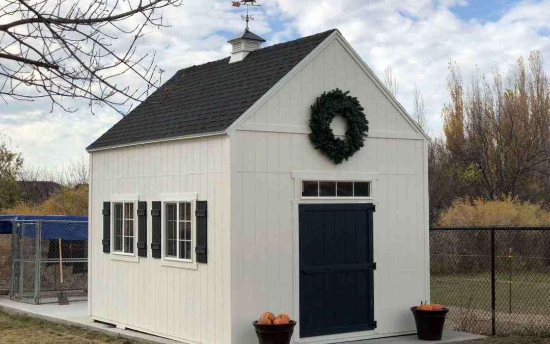 Why Winter Is a Great Time to Build a Storage Shed