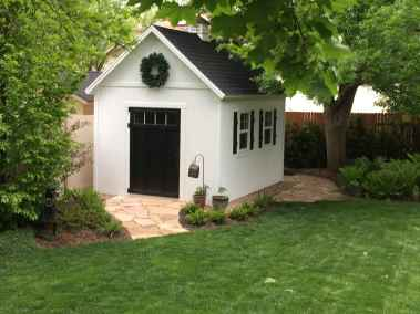 Orchard Shed with Wreath - Wright Shed Co.