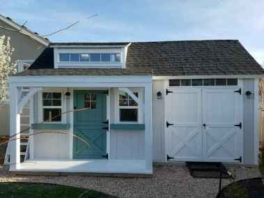 garage with orchard shed