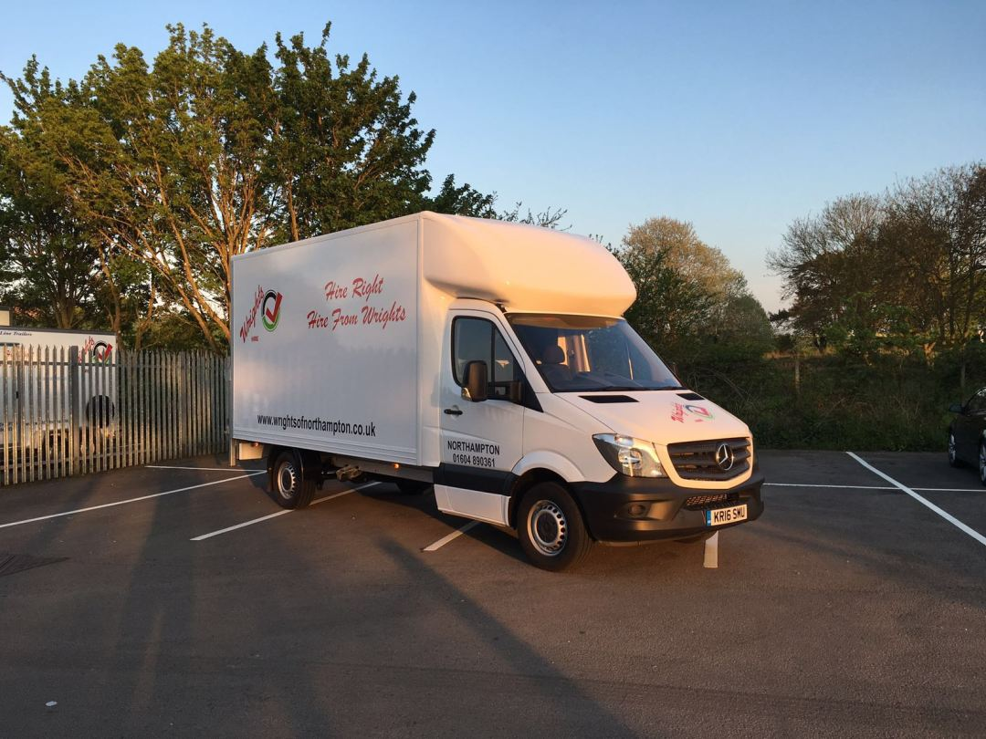 Large van for hire Northampton