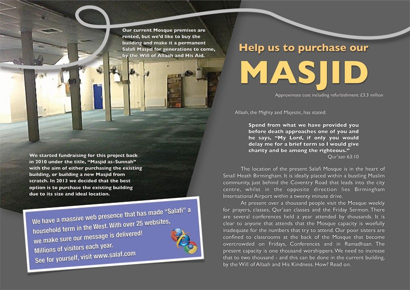 Inside Our Present Masjid