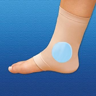 Silipos Gel Ankle Sleeve  cushions and protects malleolae