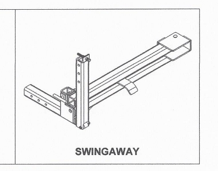 EZ-Access Haulway Swingaway Arm Accessory: for Haulway