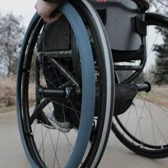 Wheelchair Grips Wood Bankers Chair Fit Pro Hand Rim Increase Comfort Grip For Provide Increased And Gripping Power