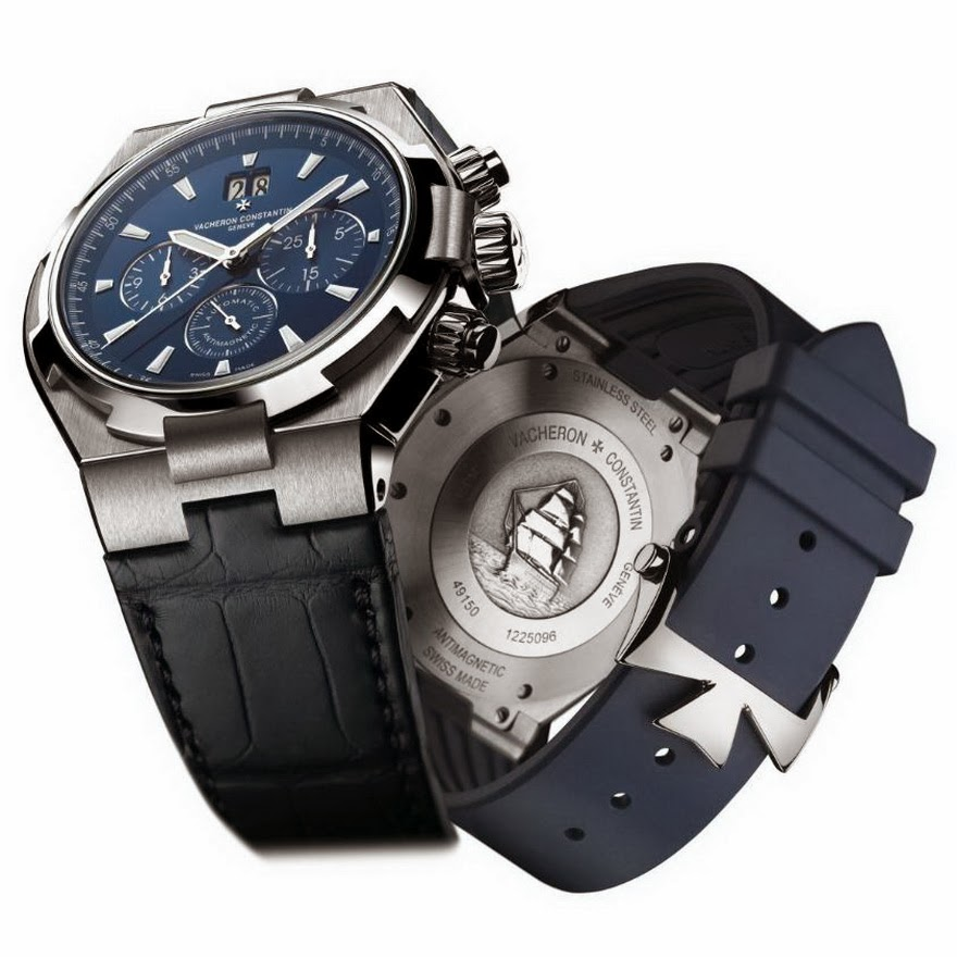 VACHERON Constantin Overseas BLUE Chrono 02