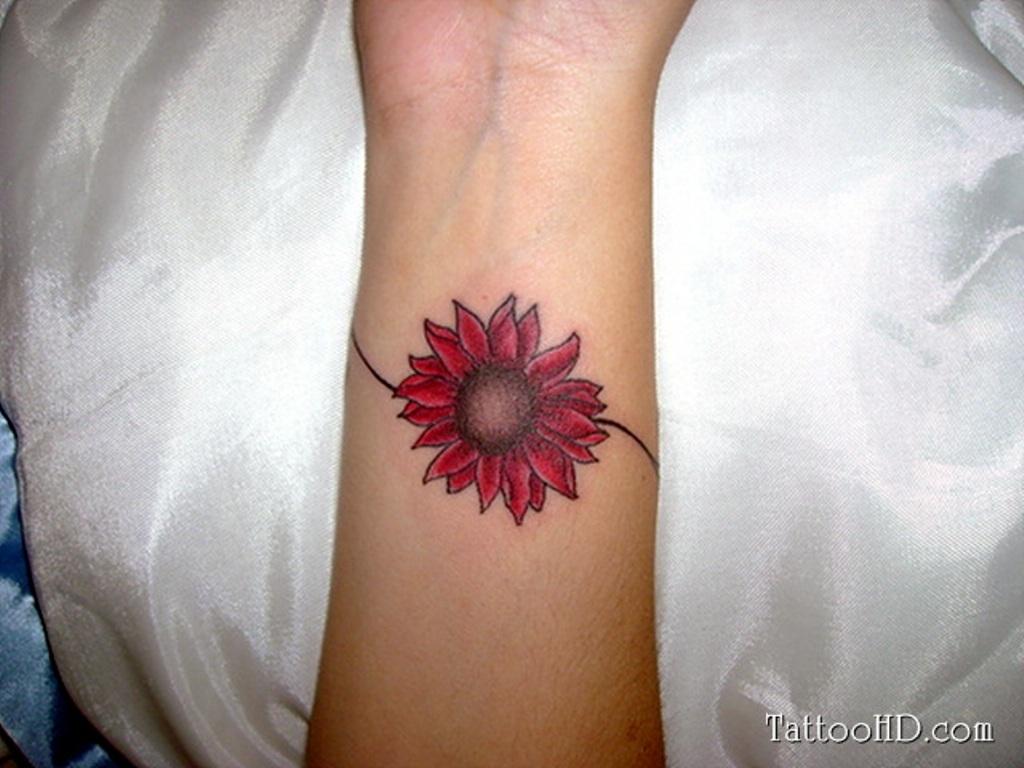Red hibiscus flower tattoo izmirmasajfo