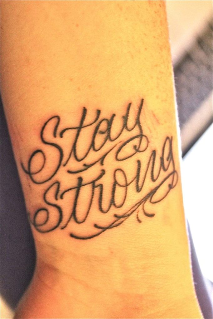 Stay Strong Tattoo Drawings