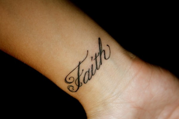 adorable faith wrist tattoos