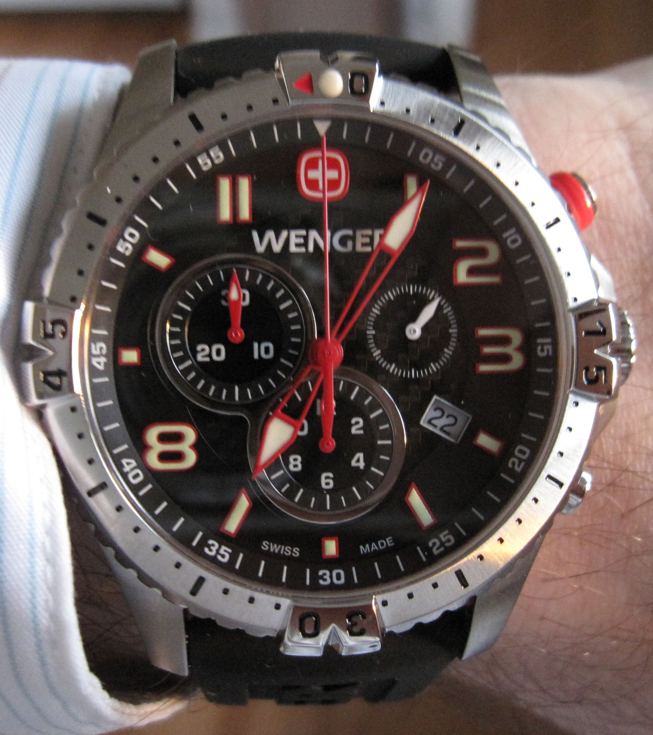 doesn army pin swiss t there to seem be many watches watch wearers