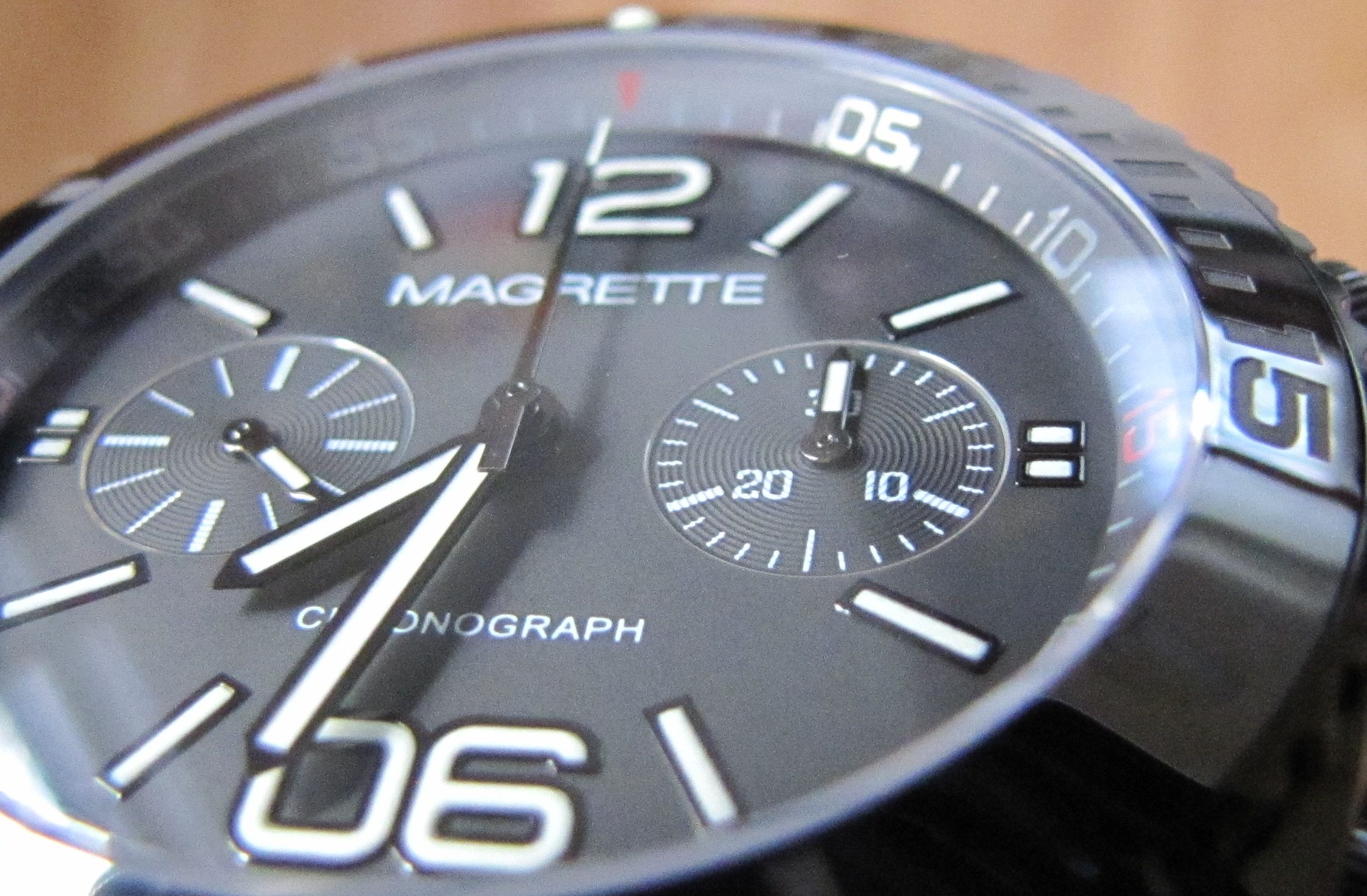 What is a chronograph 84