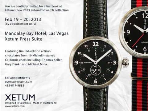 Xetum 2013 Collection Preview Invitation (Las Vegas)