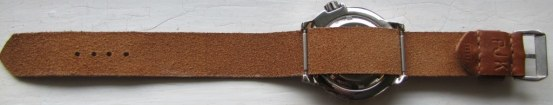 Cloudy Sky Leather Strap (1)