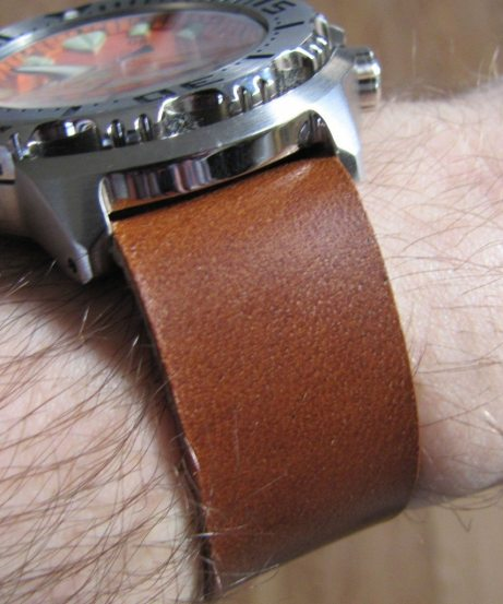 Cloudy Sky Leather Strap (6)