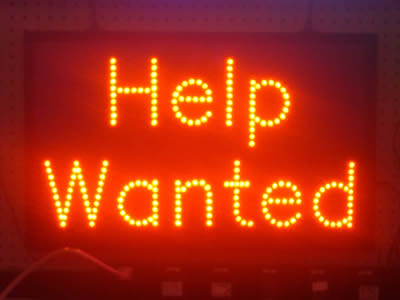 Help Wanted Neon