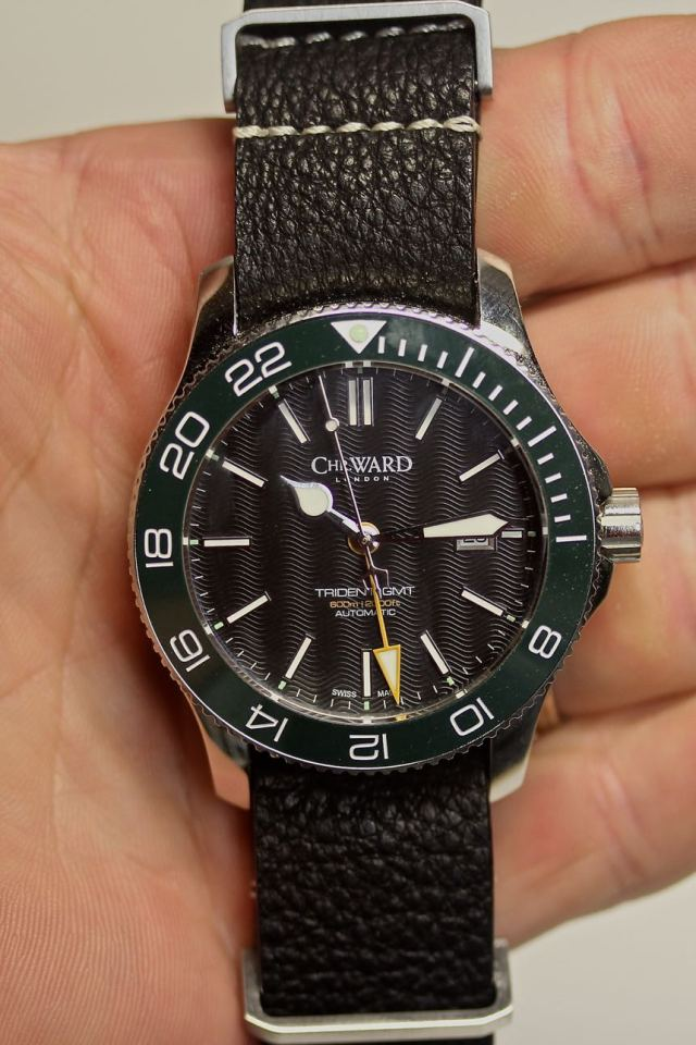 Christopher Ward Trident GMT 15