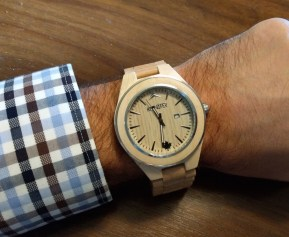 """The Sequoia Maple looming over the author's 7"""" wrist"""