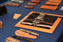 Kobold watches were on display at the vendor fair.