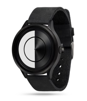 Black PVD Leather