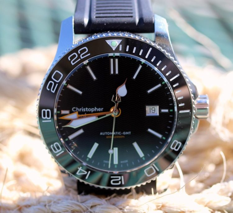 crossing timezones with the christopher ward c60 trident pro gmt 600