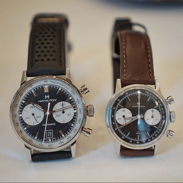 aa9a72a30 The new Intra-Matic 68 Autochrono and the original Chronograph B. Photo  credit: watchjmak via RedBarCrew Vancouver