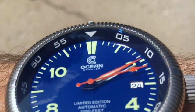 Diving into the Ocean Crawler Champion   Wrist Watch Review