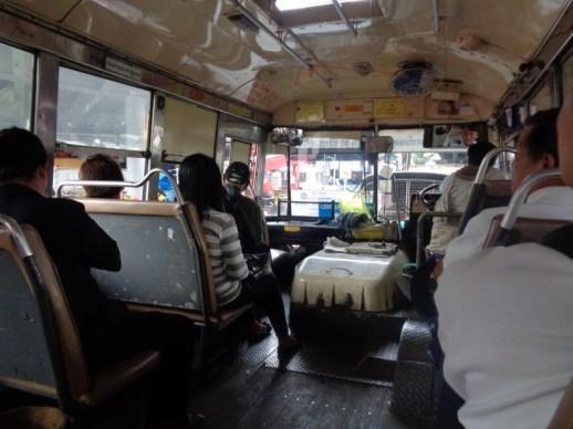 Autobus w Bangkoku