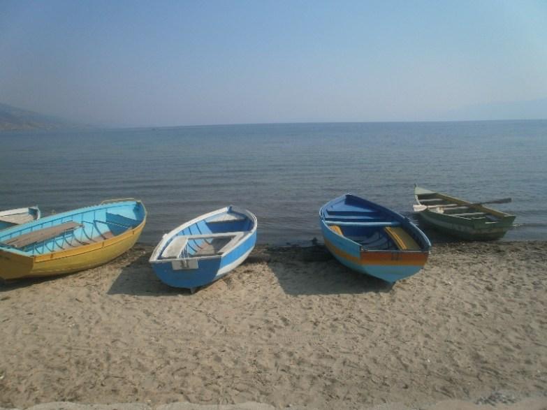 Jezioro ochrydzkie Albania