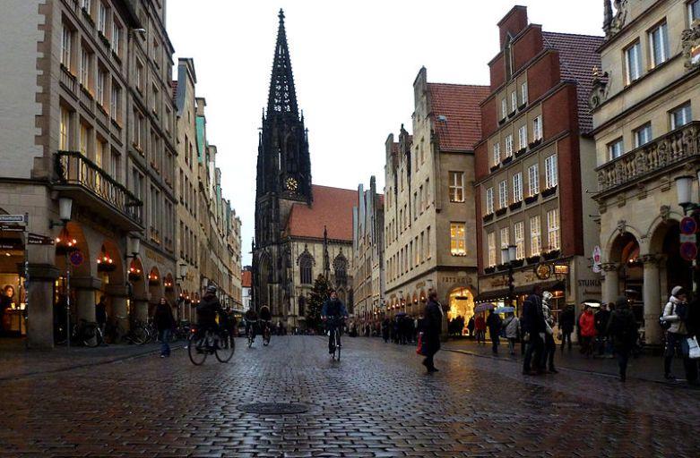 Münster – niemiecki Amsterdam kipiący młodością