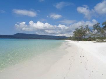 Plaża na Koh Rong