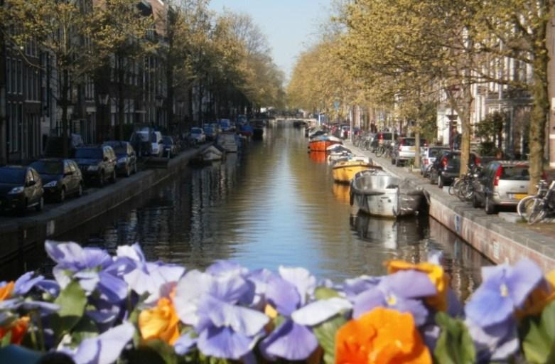 Wodny Amsterdam. A to kanał!