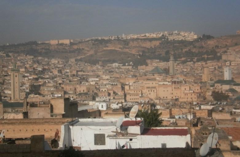 Fez – wizyta w białym mieście