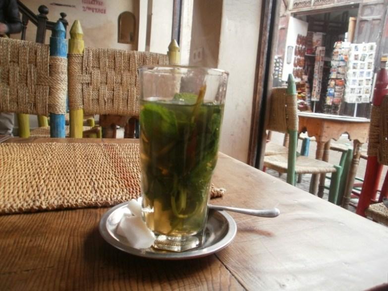 herbata z miętą maroko