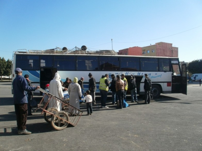 autobus przejazdy maroko
