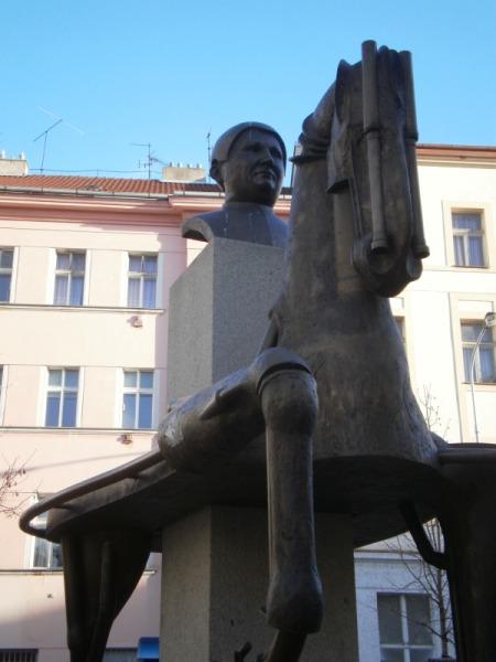 zizkov pomnik jarosława haska