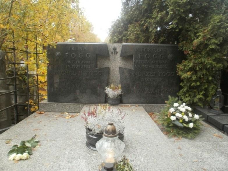 Grób Fogga na Cmentarzu Bródnowskim