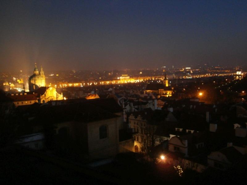 Nocna Praga - stolica Czech w najpiękniejszej odsłonie