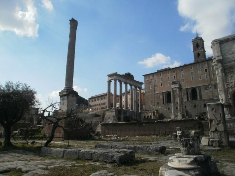 forum romanum rzym
