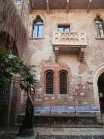 Werona i balkon Julii