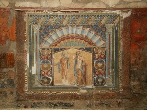 Freski w Pompejach